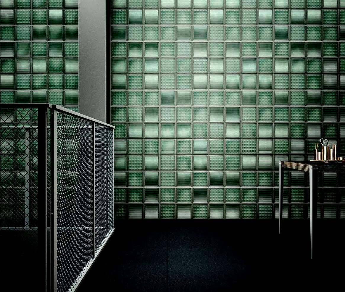 Diesel Living Glass Block Tiles
