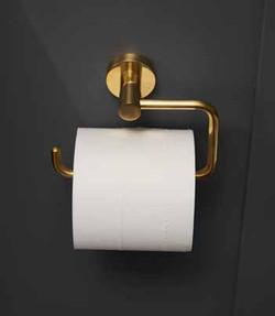 Bond Brass Toilet Roll Holder