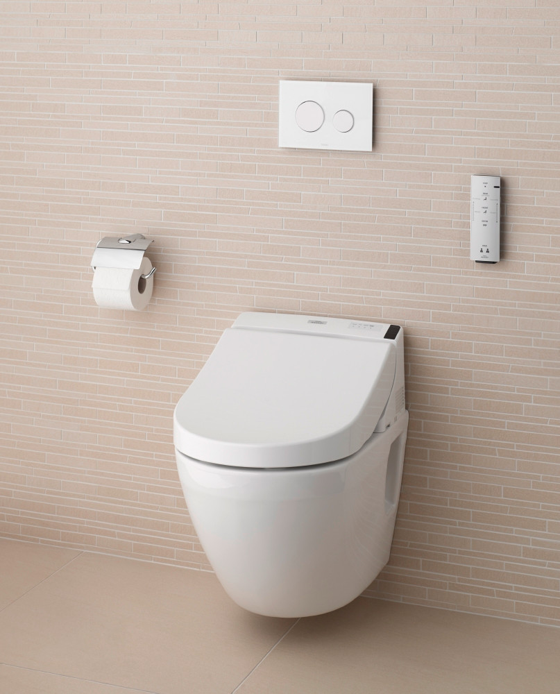 TOTO Japanese Washlet GL 2.0 White Wall Hung Toilet