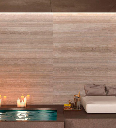 Travertino Maxfine Large Floor + Wall Ti