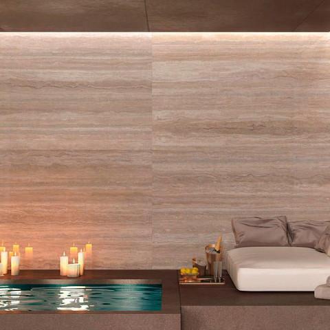 Travertino Maxfine Large Floor + Wall Ti