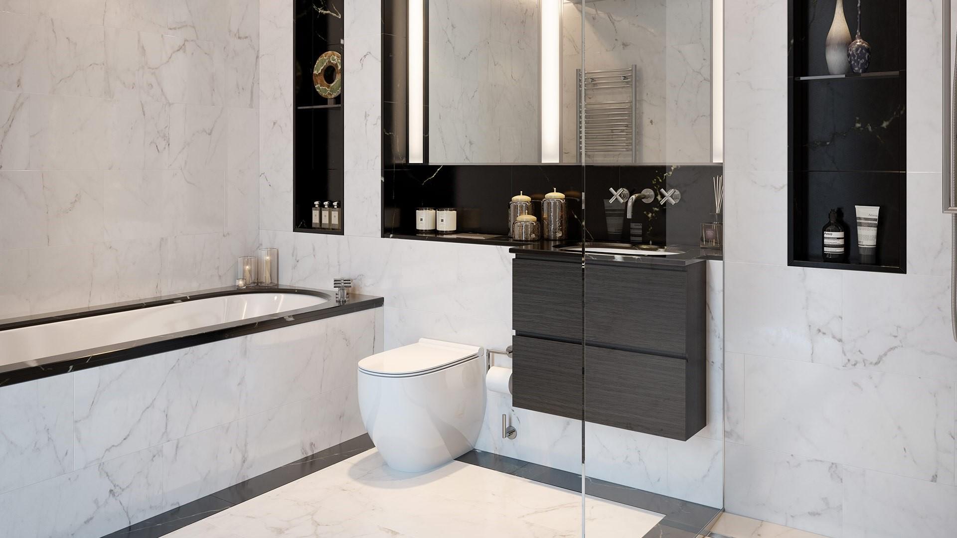 Lansdowne Place Bathroom