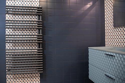 Anthracite Forma Symmetrical Towel Rail