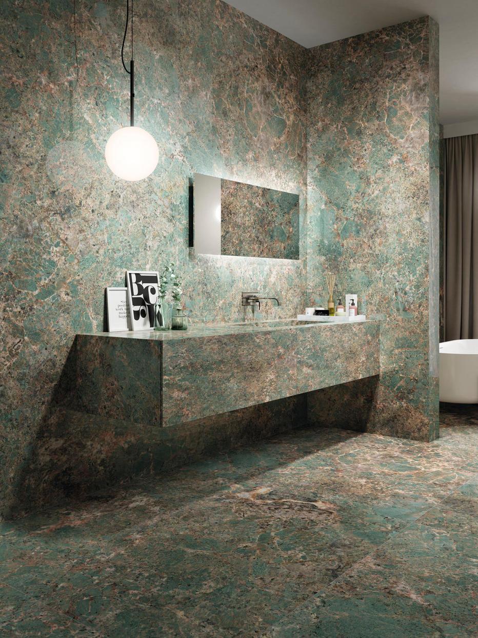 Amazonite Bathroom Tiles