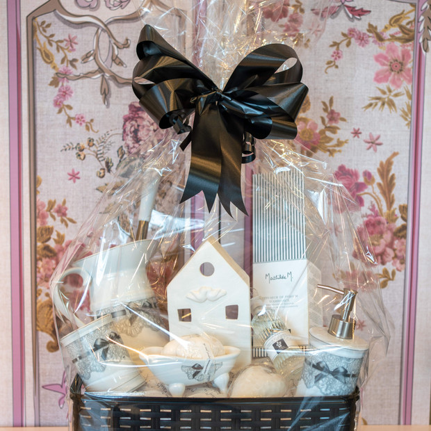 White Hamper Accessories