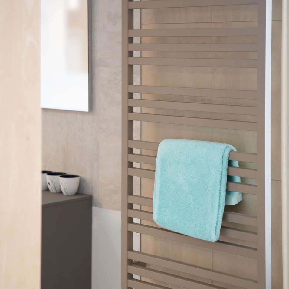 Zehnder Triton Heated Towel Rail