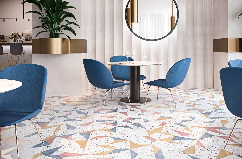 Stracciatela Terrazzo Look Tiles