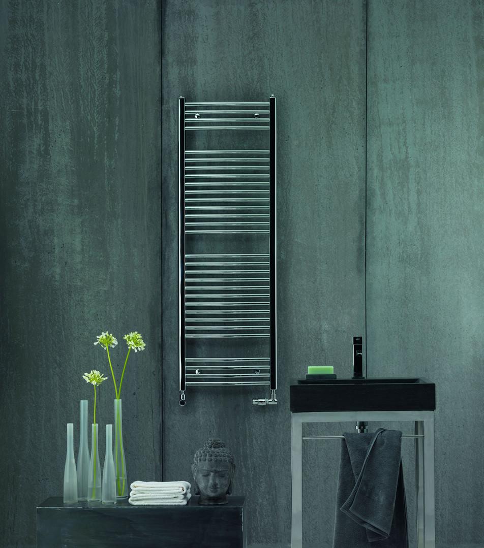 Zehnder Aura Heated Towel Radiator