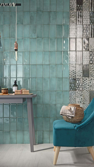 Be In Turquoise Subway Tile