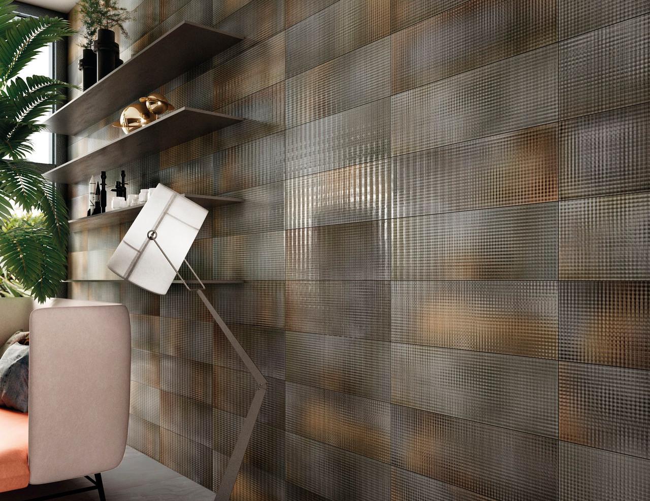 City Lights Grey Wall Tiles