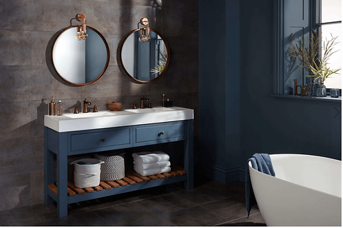 Langton Washstand with Double Basin