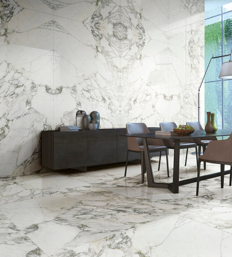 Arabescato Large Format Tiles