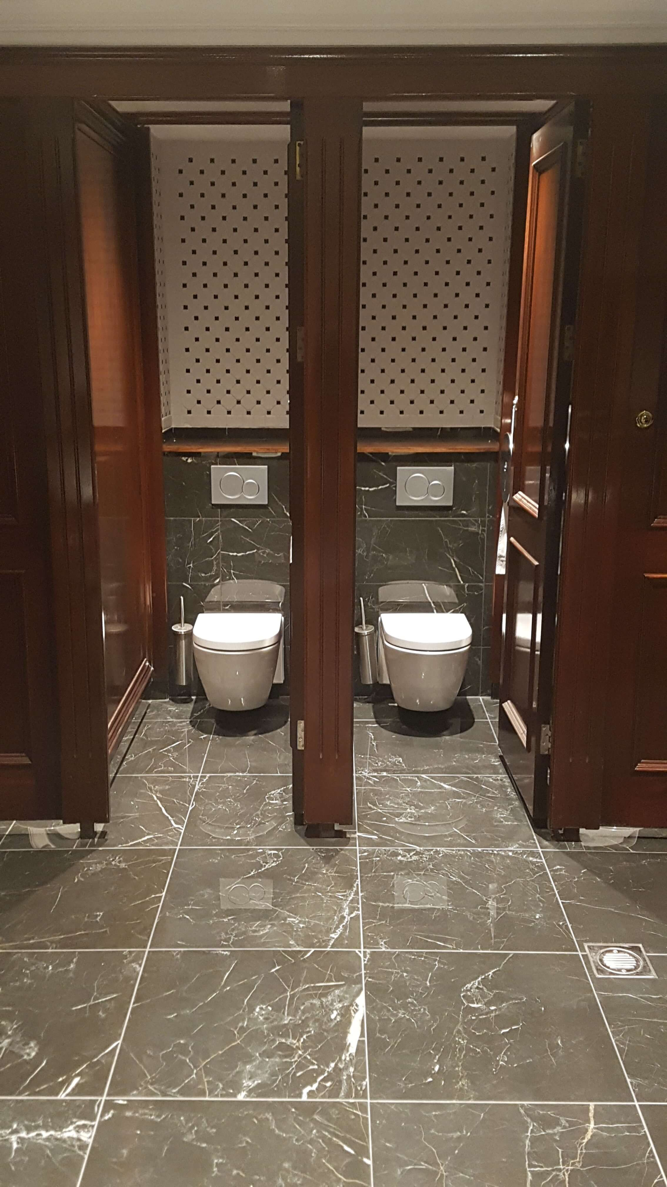 The Davenport Hotel Toilets