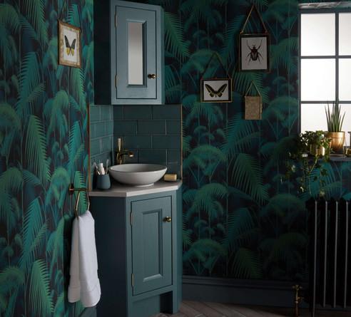Tetbury Vanity Unit Baltic Green 620