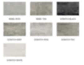 Diesel Living Scratch Concrete Colours.P