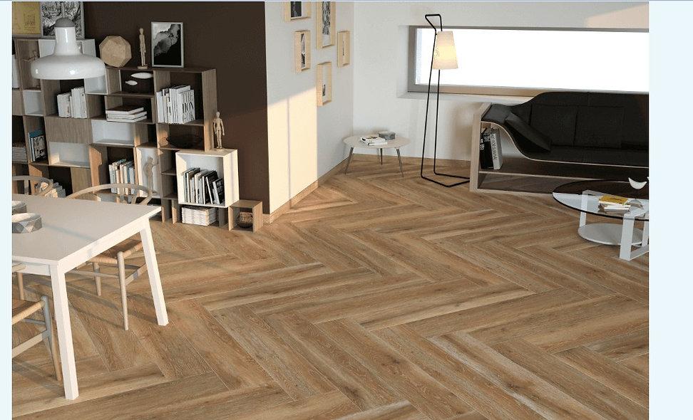 Roble Wood Effect Floor Tiles  25x129.5cm