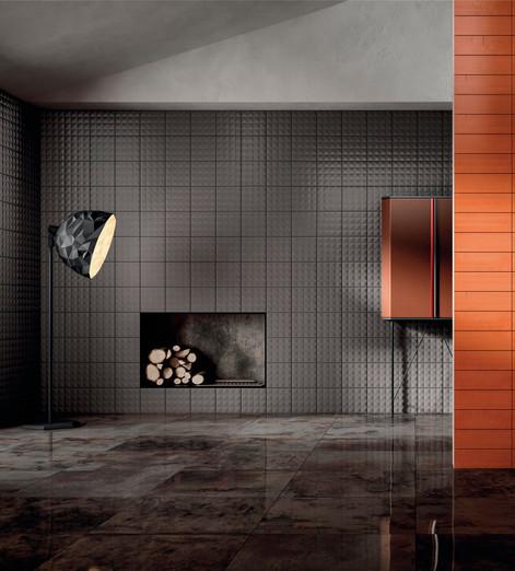Diesel Living Metal Perf Tiles