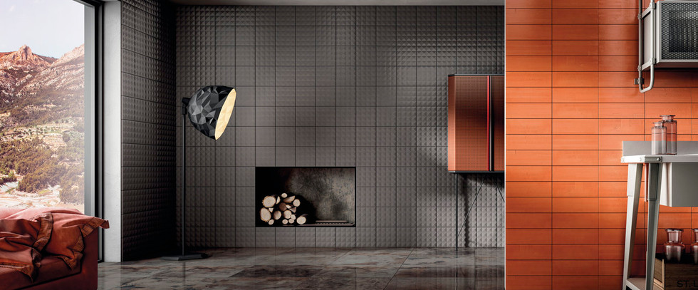 Diesel Living Metal Perf Tiles