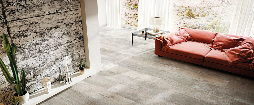 Combustion Crackle Wood Effect Tiles