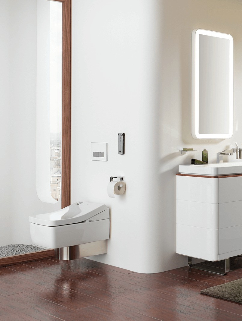 TOTO Japanese Washlet SG White Wall Hung Toilet