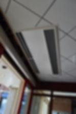 Dual Effect Air Curtain