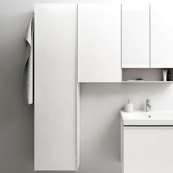 Geberit Acanto Tall Unit with two cargos