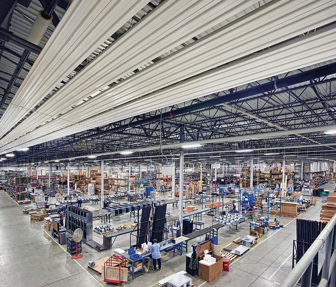 Radiant Heating Warhouse Logistic Centre