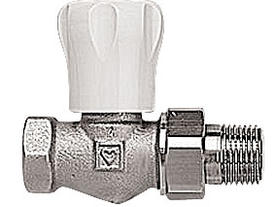 DR-T-90 Straight Radiator Control Valves