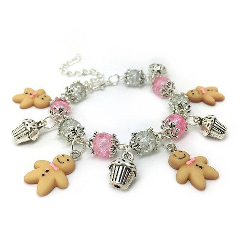 Children's Gingerbread Man Bracelet