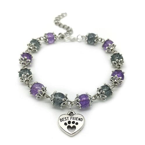 Pet Lovers Best Friend Dog/Cat Charm Bracelet
