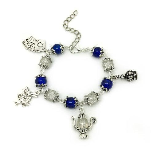 Children's Alice In Wonderland Charm Bracelet