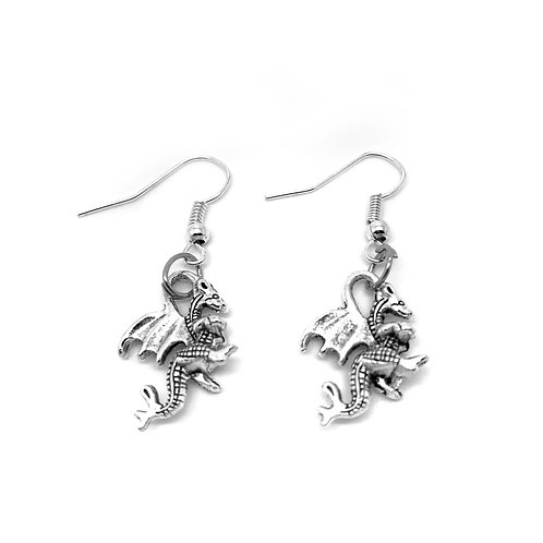 Dragon Charm Earrings