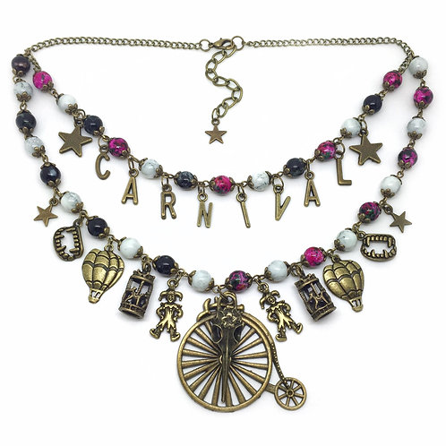Carnival of Horrors Fantasy Charm Necklace