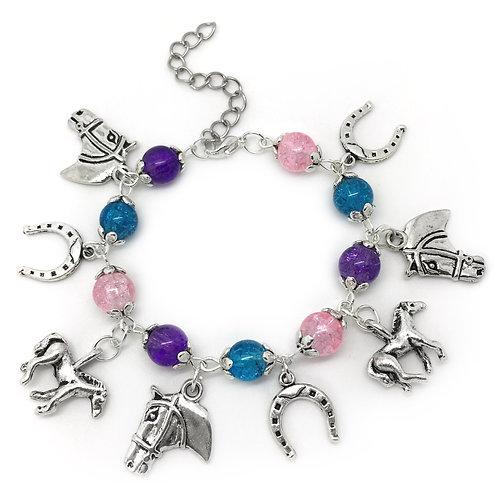 Children's Horse Charm Bracelet