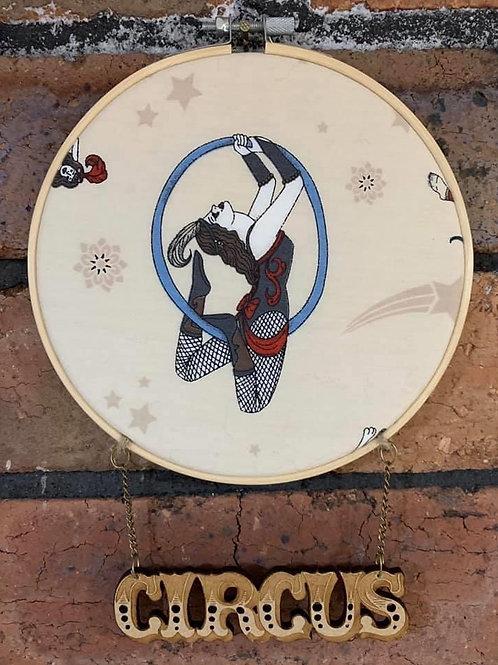 Aerial Circus Hoop Wall Art