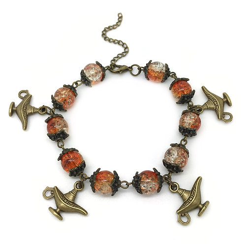 Magic Lamp Charm Bracelet