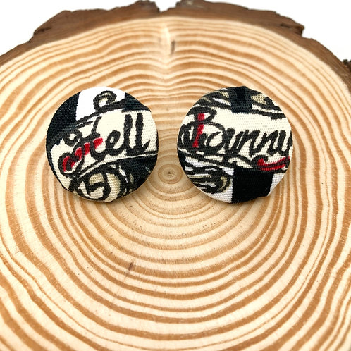 Hell Bunny Fabric Earrings