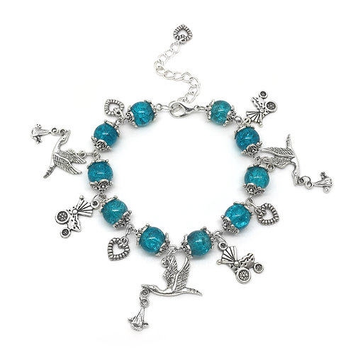 New Baby Shower Gift Bracelet