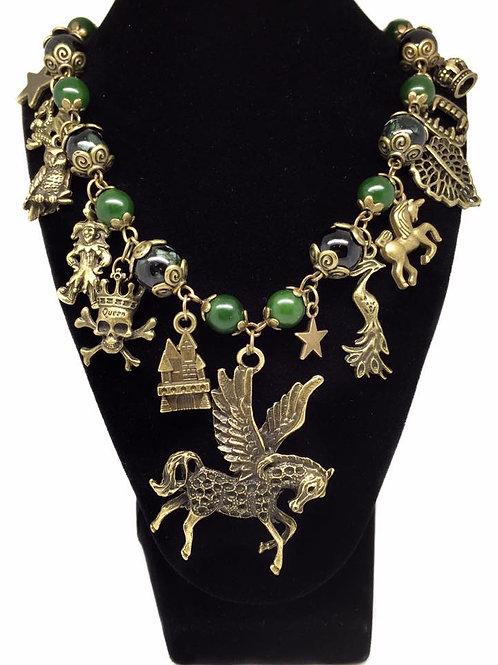 Horror Fantasy Kingdom Themed Necklace