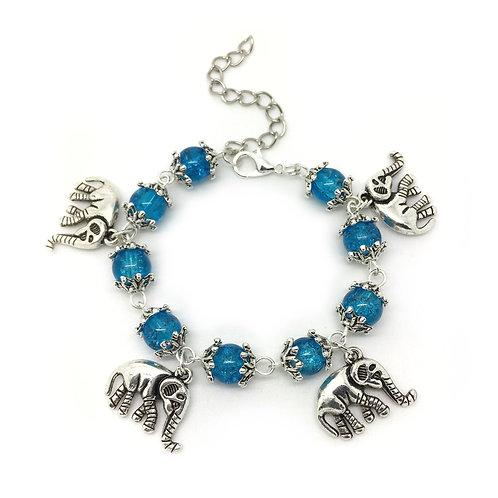 Children's Elephant Charm Bracelet