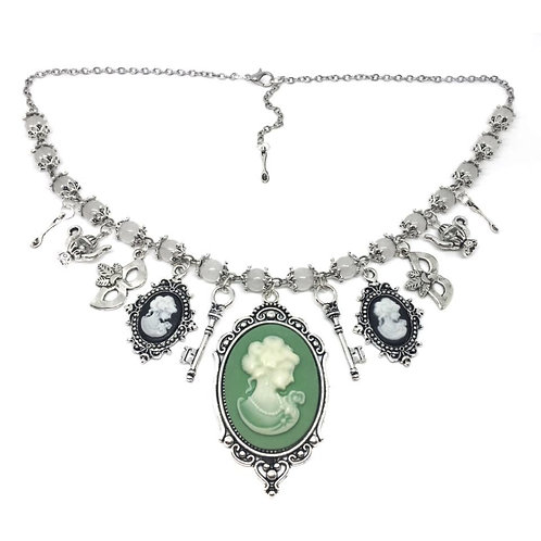 Masquerade Ball Charm Necklace