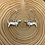 Thumbnail: Sausage Dog  Daschund Charm Earrings