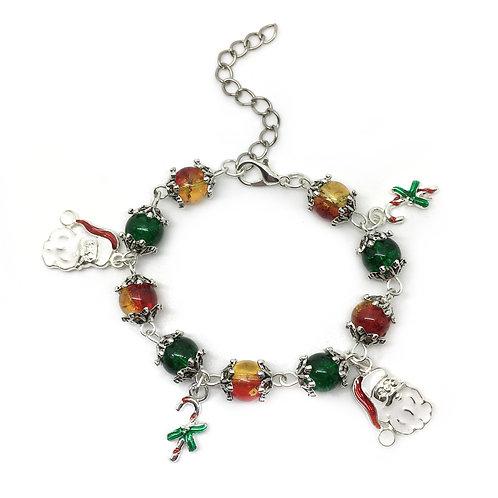 Children's Christmas Charm Bracelet