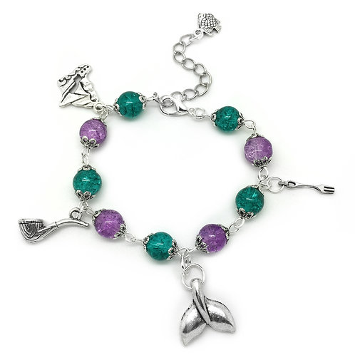 Children's Mermaid Charm Bracelet