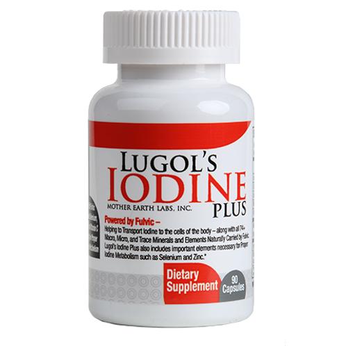 Lugol's Iodine Plus Capsules