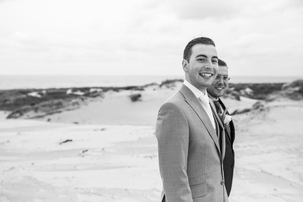 Bruiloft foto broers