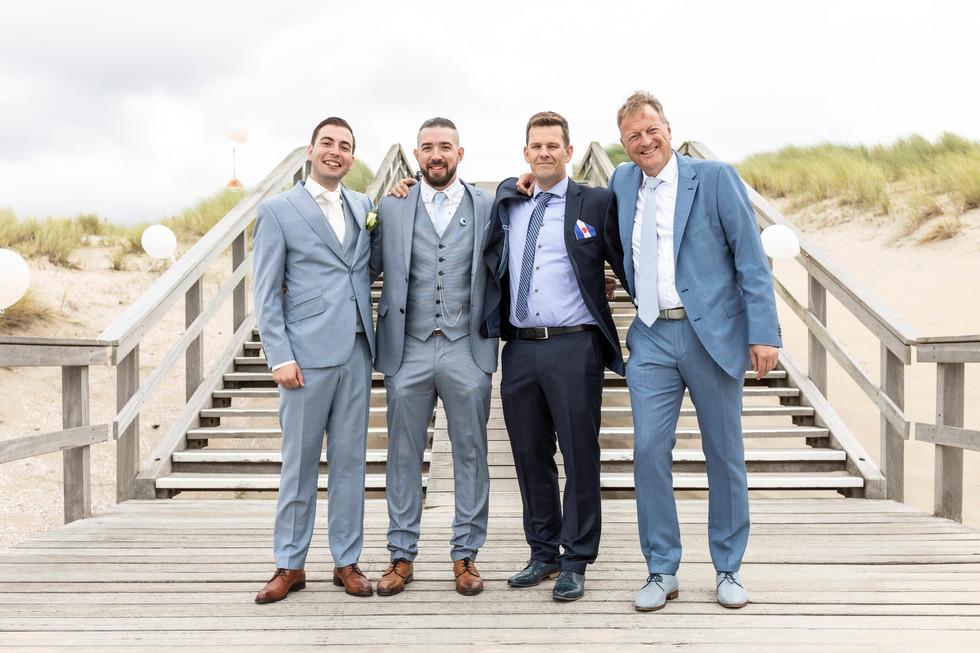 Bruiloft foto groepsfoto's