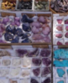 Crystals specimens, minerals, quartz, amethyst, chrysocolla, cobaltoan calcite, salrose, sodalite, boekenhoutshoek spirit quartz, serpentine, mookaite jasper, snowflake obsidian