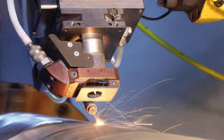 Laser Cladding Nozzle on roll