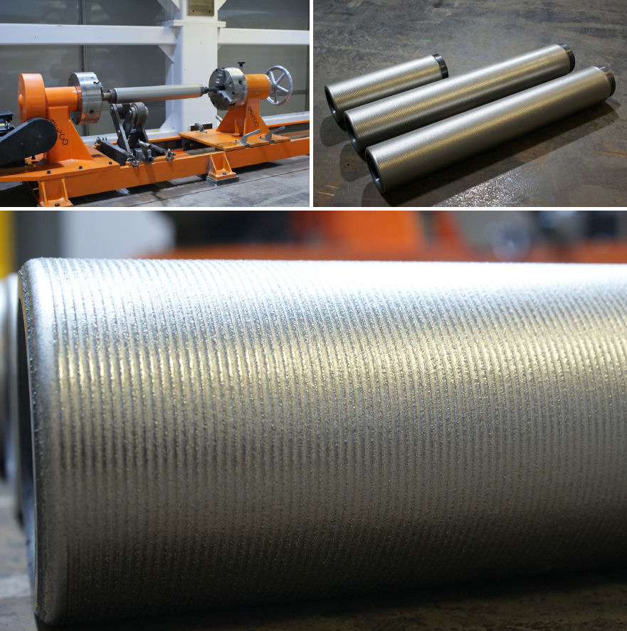 Laser Clad Rolls